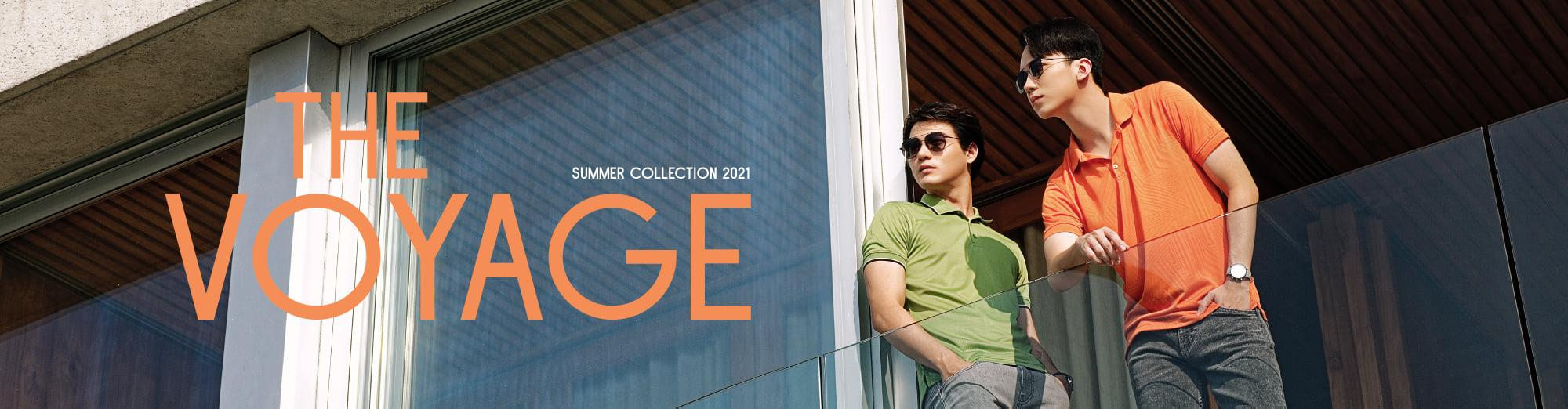 THE VOYAGE - SUMMER COLLECTION 2021