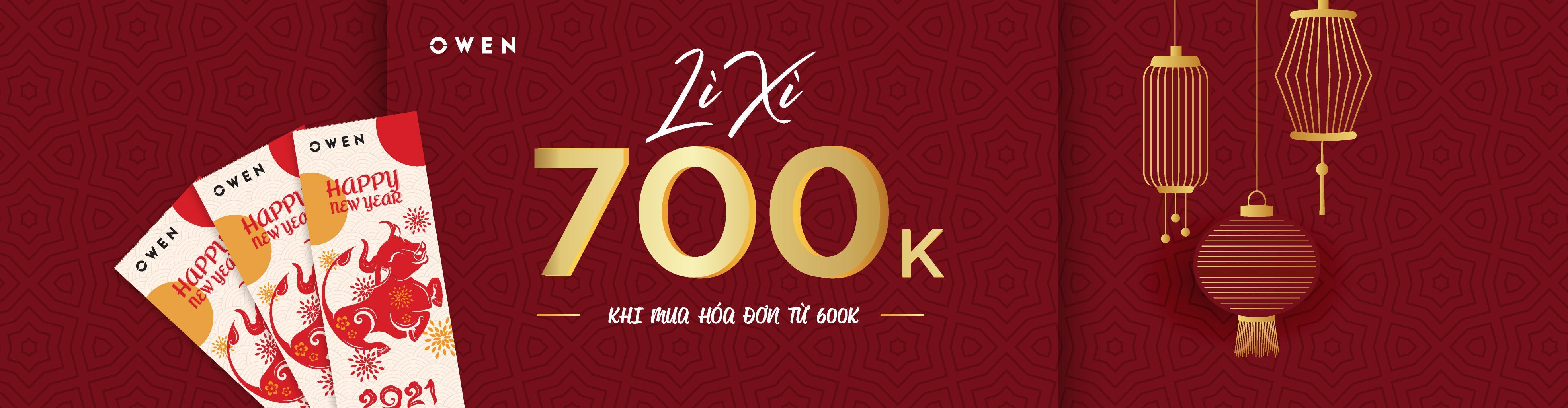 MIỀN NAM | DANH SÁCH CỬA HÀNG ÁP DỤNG CHƯƠNG TRÌNH LÌ XÌ 700K