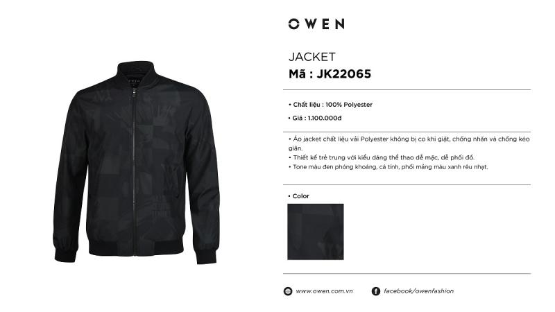 Áo Jacket - JK22065