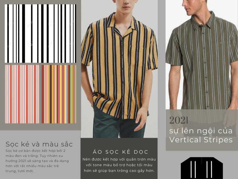 Họa tiết Vertical Stripes