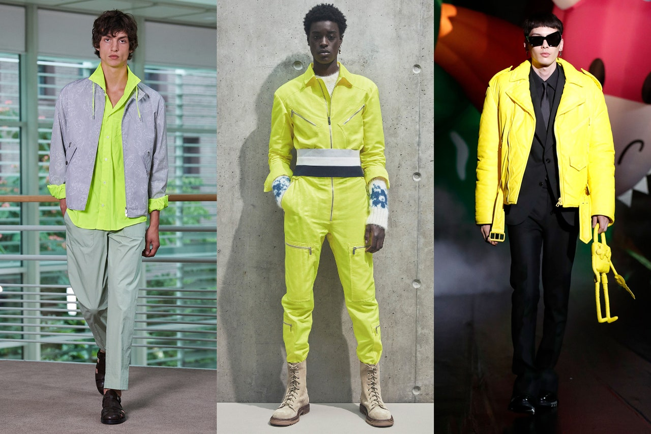 Màu vàng trend 2021