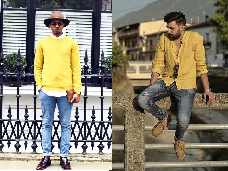 Mix màu vàng trend 2021